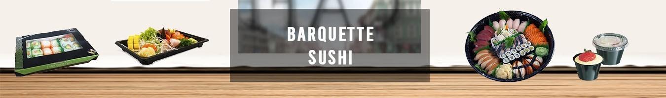 Barquette sushi et boite à sushi pour le japonais - Le Bon Emballage