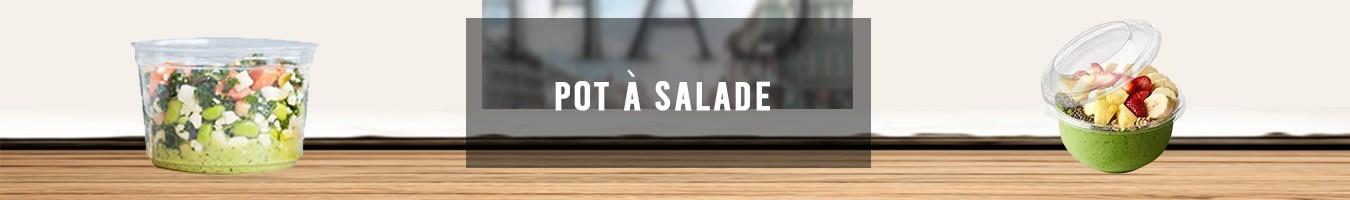 Pot à Salade alimentaire jetable - Le Bon Emballage