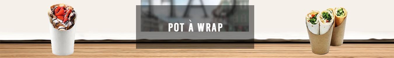 Pot à wrap pour les pros de la restauration - Le Bon Emballage