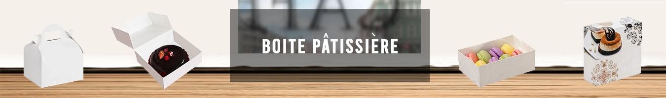 Boites pâtissières Boulangerie Pâtisserie- Le Bon Emballage