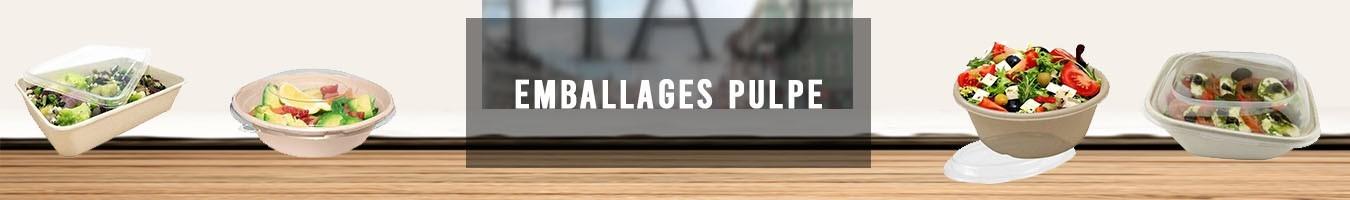 Emballage alimentaire écologique en Pulpe - Le Bon Emballage