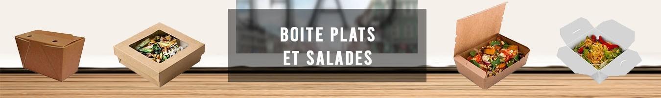 Boite plats et salades - Le Bon Emballage