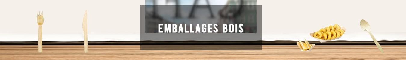 Emballage alimentaire écologique en Bois - Le Bon Emballage