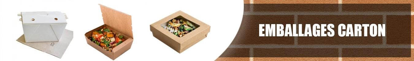 Emballage alimentaire écologique en Carton - Le Bon Emballage