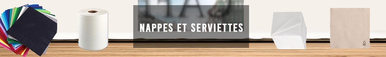 Serviette en papier et Bobines - Le Bon Emballage