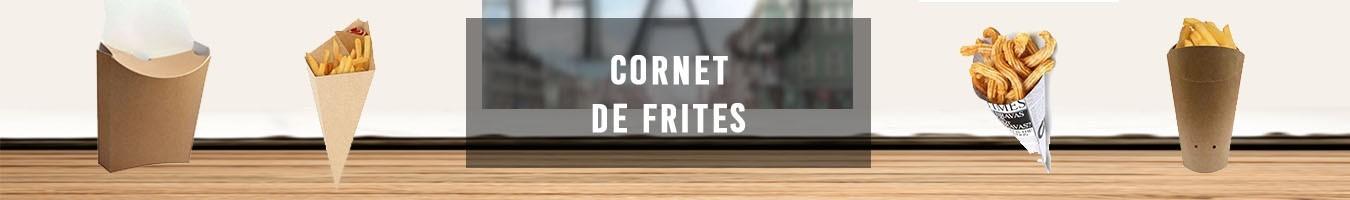 Emballage pour Cornet de frites - Le Bon Emballage
