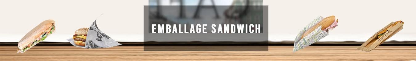 Emballage pour Sandwich et emballage club - Le Bon Emballage